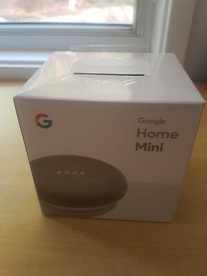 Google Home Mini - Chalk - Brand New Unopened