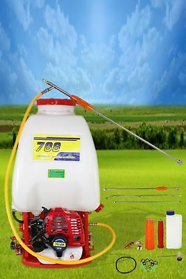 26Cc 25L Petrol Knapsack Backpack Garden Sprayer