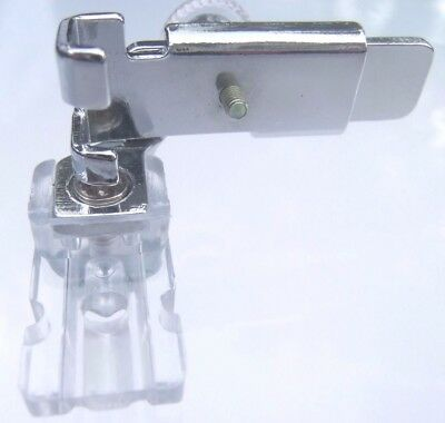 Invisible Zipper Foot Clear Adjustable For Low Shank - Brother - Singer - Janome