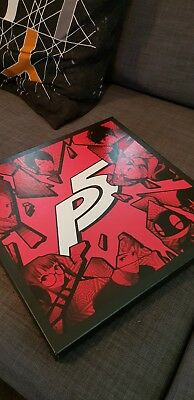 Persona 5 OST vinyl 4LP, by iam8bit, various artists, NEVER USED