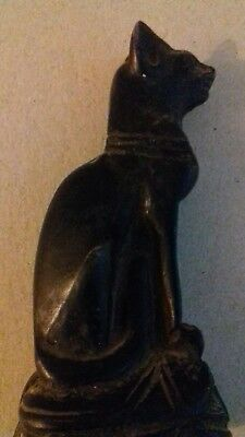 beautiful ancient egyptian black cat Second Dynasty (2890 BCE)