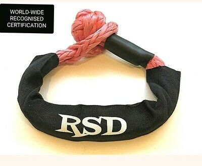 Soft Shackle, Recovery Gear, Winch, 4x4, 4wd, AUS CERTIFIED 14,000kg Limit