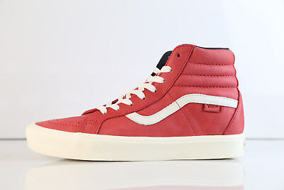 d37508bee7 Vans SK8-Hi Reissue Li Horween Leather Lollipop Red VN0A2Y310NF 8-12 prm  vault