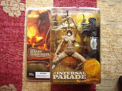 """Mcfarlane Toys """"clive Barker's Infernal Parade"""" Mary Slaughter - New/unopened"""