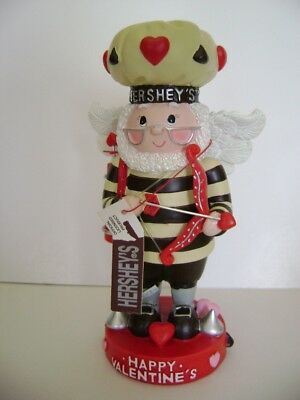 """New Hershey's Happy Valentines Day Figurine 2002  5 1/2 """" Inches Tall"""