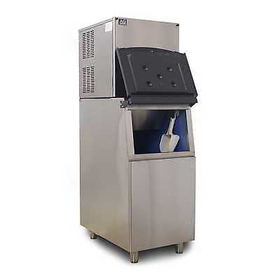 Brand New Heavy Duty Commercial Ice Maker Machine 180KG 24Hrs 145KG Ice Storage