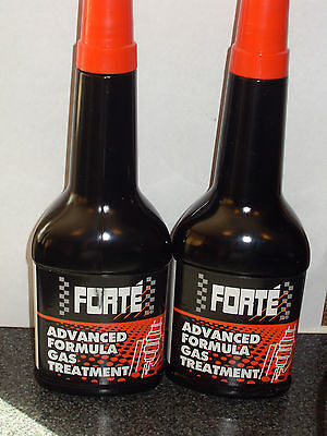 Forte Advanced Formula Gas (Petrol) Treatment Pack (2x400ml).