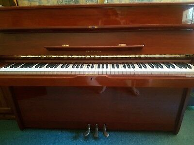 Yamaha Upright Piano With Seat, Excellent Condition