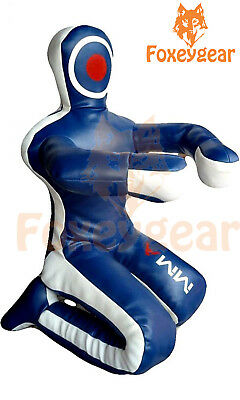Unfilled Bestzo MMA Martial Arts Brazilian Grappling Dummy-Sitting Position Red /& Black