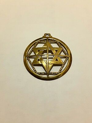 Martinist pentacle pendant