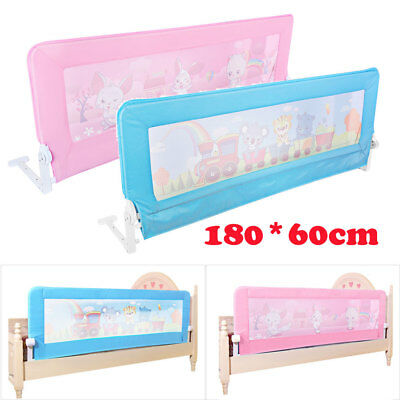Toddler Child Kid Bedguard Folding Safety Infant Baby Bed Rail Protection Guards