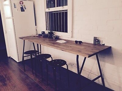 Vintage Retro Trestle Table