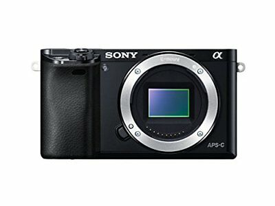 Sony Alpha a6000 Mirrorless Digital Camera 24.3 MP SLR Camera - Body Only (Black