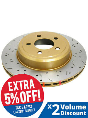 2 x DBA XS Cross-Drilled & Slotted Rotor FOR HOLDEN H SERIES HZ (DBA4014XS)