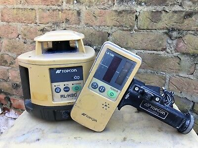 Topcon RL-H3C Rotating Laser Level With Receiver LS-70B