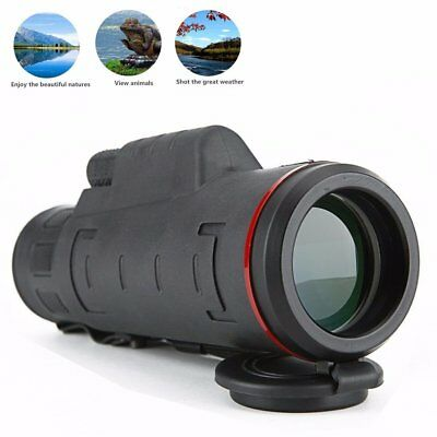 Cell Phone Telescope Universal Telephoto Lens Spotting Scopes Monocular NEW