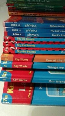 10 ladybird books phonics and say the sound