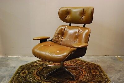 Mid Century Selig Plycraft Style Eames Era Lounge Chair
