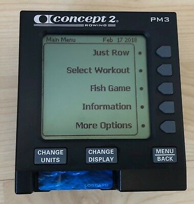 Concept 2 - PM3 monitor - Excellent Condition!
