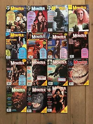 Famous Monsters - Monster Land - lot of 15 - complete set - no reserve