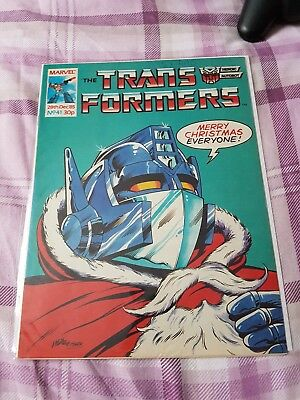 Marvel UK Transformers Comic #41