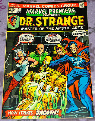 Marvel Premiere 7 with Dr. Strange March 1973 from Marvel Comics