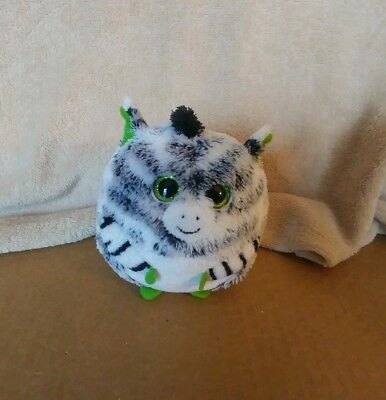 TY Beanie Ballz Plush Oasis the Zebra 5""