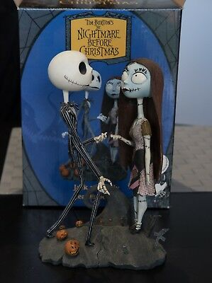 Tim Burton The Nightmare Before Christmas Collection Of Movie Action Figures