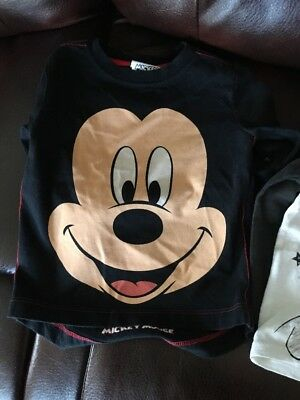 Baby Boy Mickey Mouse Tops 6/9 Months