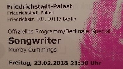Ed Sheeran Ticket Berlin Berlinale Welt Premiere Songwriter Film Musik Kino 123