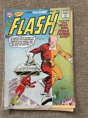 The Flash Issue 116 (November 1960) Silver Age DC Comic (Good Condition)