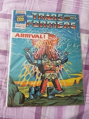 Marvel UK - The Transformers - Comic - No.80 - 27th Sept. 1986