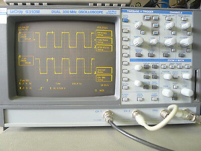 LeCroy 9310M 2 channel, 300MHz oscilloscope