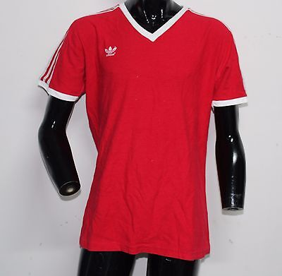 Adidas Vintage  Jersey Soccer   T-Shirt Original  West Germany
