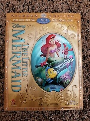 The Little Mermaid (Two-Disc Diamond Edition: Blu-ray / DVD) - Great Condition