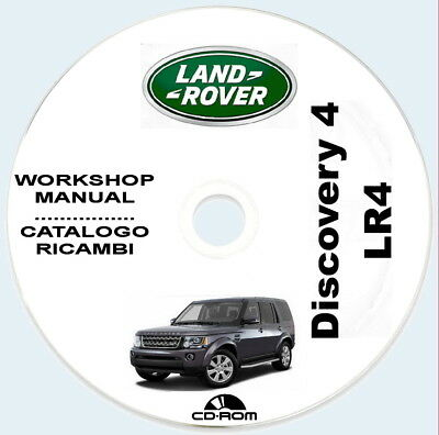 Discovery 4 LR4,Land Rover L319,Manuale Officina + Catalogo Ricambi ITA+ENG