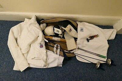 NEW AND USED COMPLETE LEON PAUL FENCING KIT worth £600+