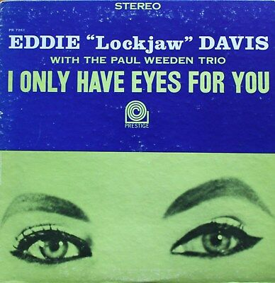 "Eddie ""Lookjaw"" Davis – I Only Have Eyes For You – Usa – 1963 - Ex!!!"