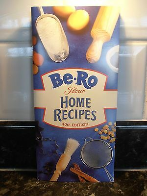 Be-Ro Home Baking Recipe Book 40th Edition. New. FREE UK FIRST CLASS POSTAGE
