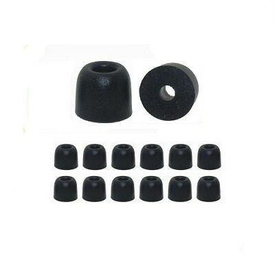 EP100 - 6 pr Memory Foam ear tips for Shure Earbuds (only models listed below)