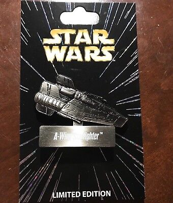 Star Wars A-Wing Starfighter Pin LE 6000 Walt Disney World Month Vehicle Series