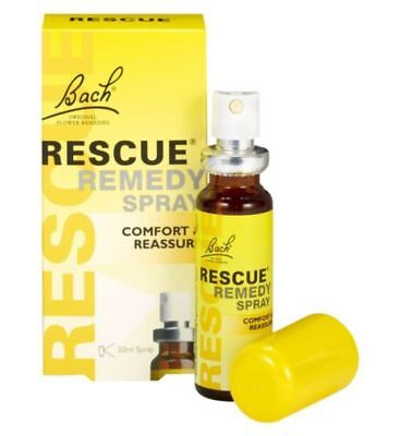 Bach Rescue Remedy Spray 20ml new in box exp date Feb 2022