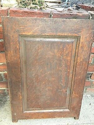 Antique Roll Top Or Flat Top Desk  Raised Panel Oak  Side  Salvaged  Part