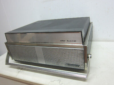 RETRO GRUNDIG TK247 The Luxe Tape Tape Recorder from 1967 (R382)