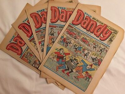 The Dandy, 1982, 28 Issues.