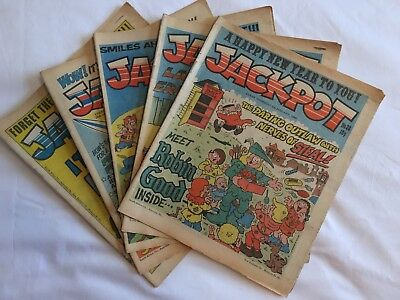 Jackpot Comic, 23 Issues from 1980