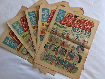 The Beezer and Cracker Comics, 14 Issues, 1976 - 1978 & 1982