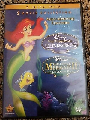 The Little Mermaid II and Ariel's Beginning 2-Movie Collection 2-Disc DVD