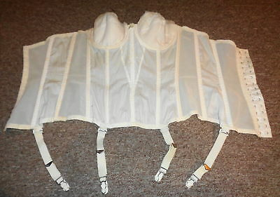 Antique Vintage Formaid Strapless Corset size 36 A Take a LOOK !!
