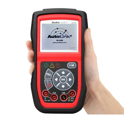 Autel AutoLink AL539b Code Reader Battery Test and OBD2 Auto Diagnostic Scanner